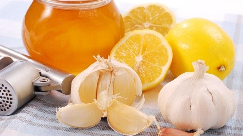 Лимон с чесноком для лечения