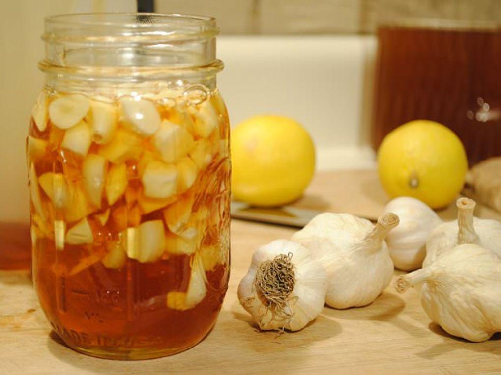 Рецепт лекарства с медом лимон и чеснок