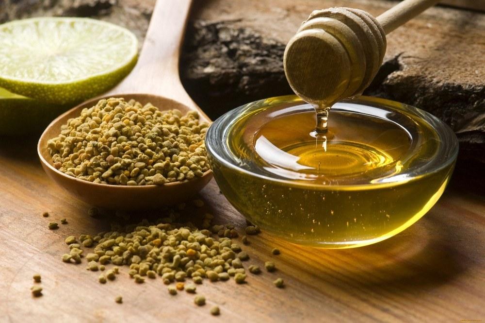 Мед с добавлением пыльцы