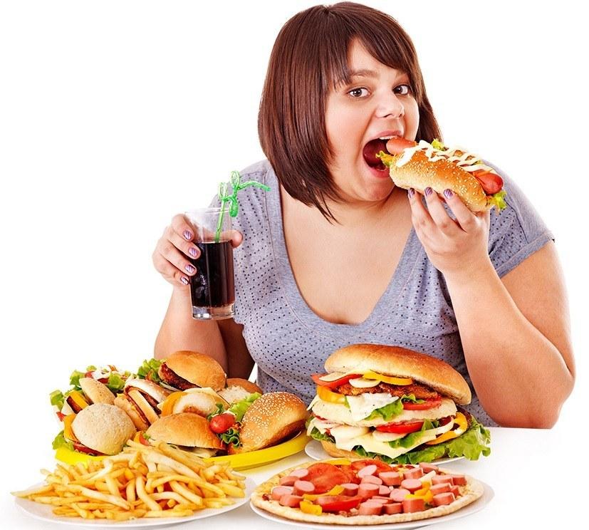 Неправильное питание и переедание