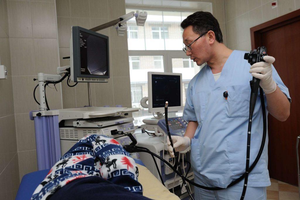 Положение пациента во время процедуры