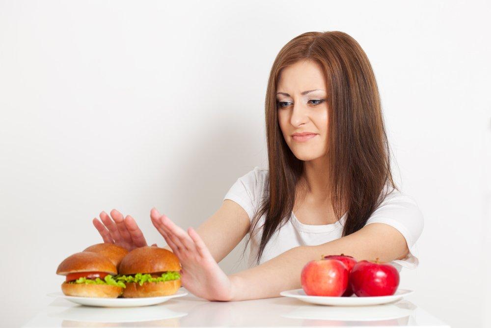 Отказ от перекусов бутербродами