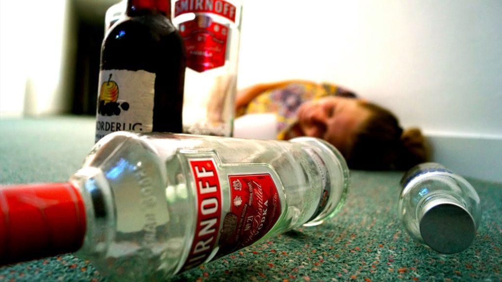 Алкогольное интоксикацие