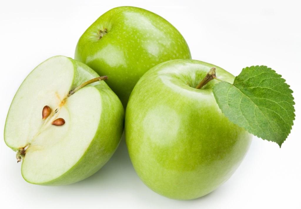 Зеленые яблоки