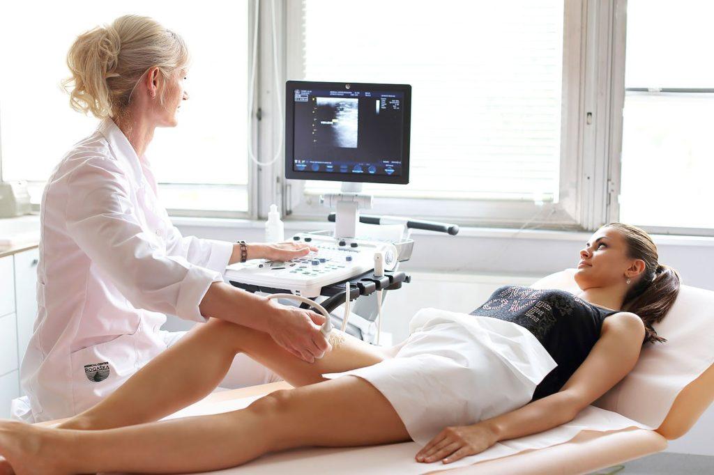 Ультразвуковое исследование ног