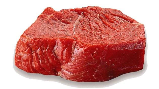 Недостаточно обработанные мясо