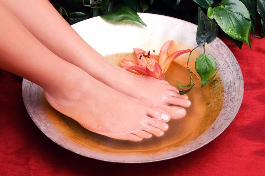 Восстанавливающие ванночки для ног