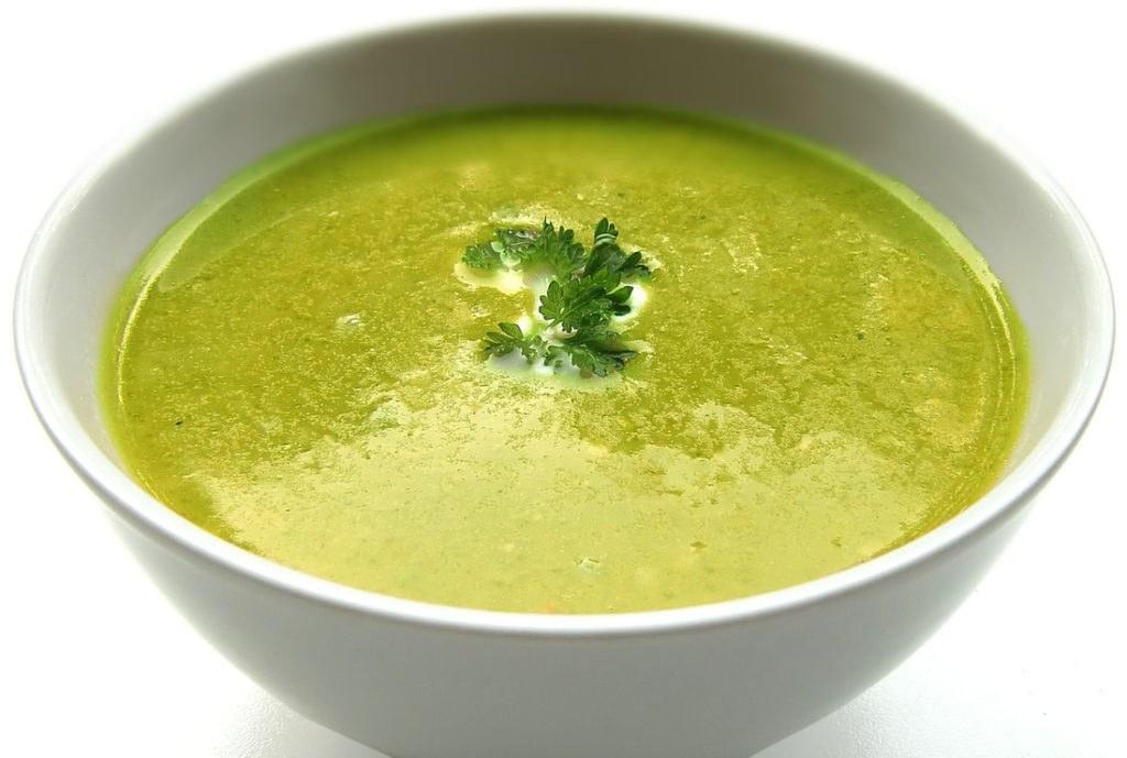 Нежирный суп
