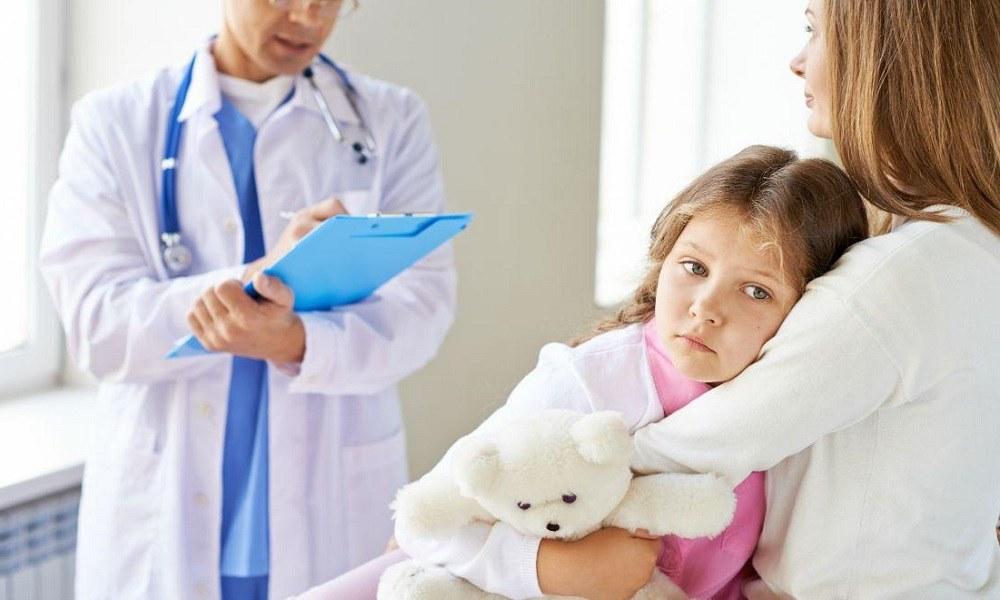 На приеме у педиатра