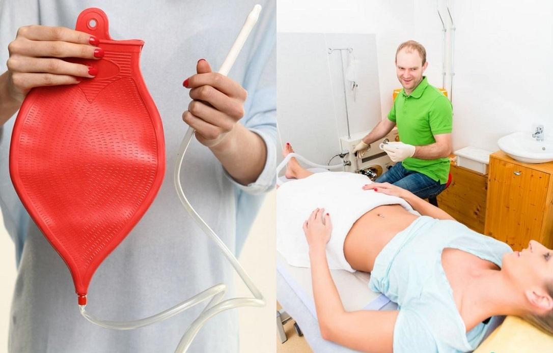 Промывание кишечника