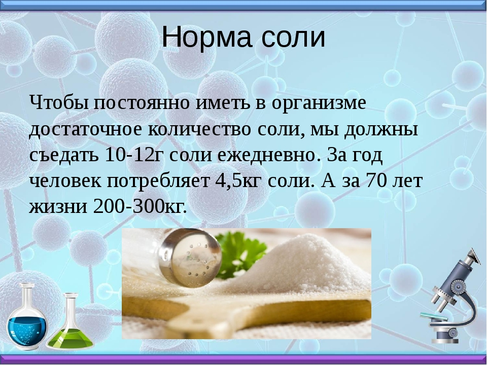 Норма соли