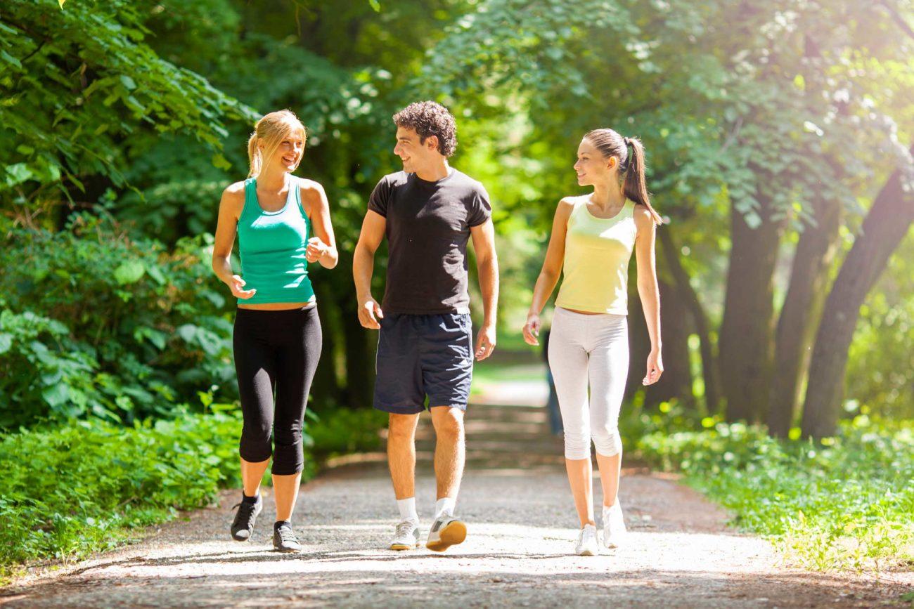 Лечебное движение пешком