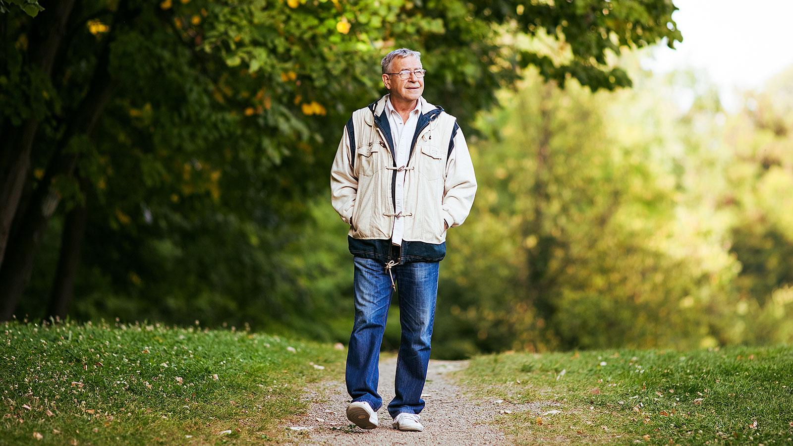 картинка гуляющего человека верхних горизонтов разреза
