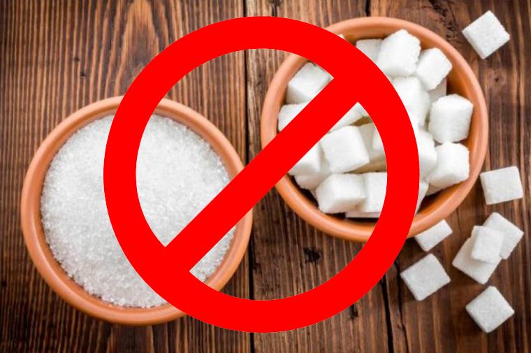 Исключить из рациона сахар