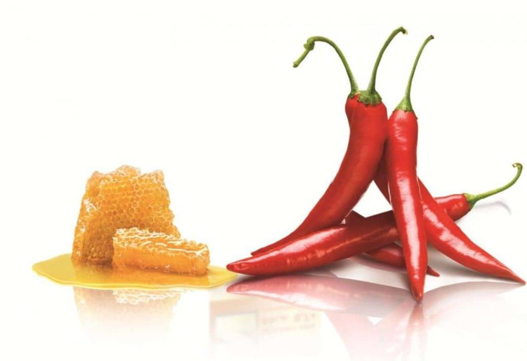 Обертывание с медом и красным перцем